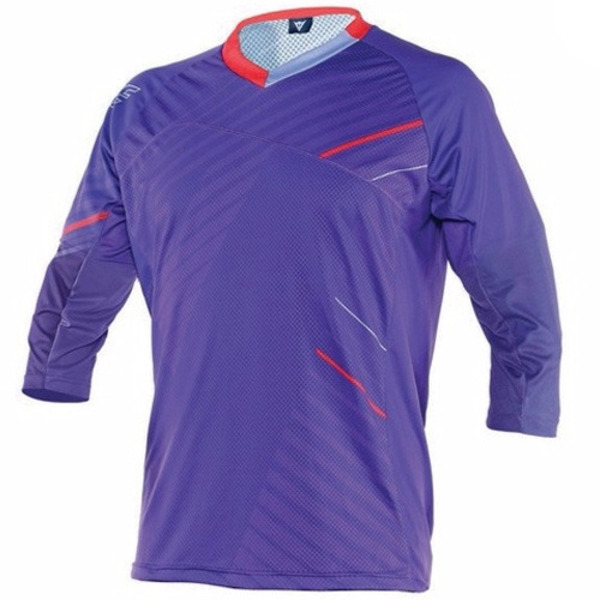 반팔상의 FLOW TECH JERSEY 3/4 KALE/PURPLE