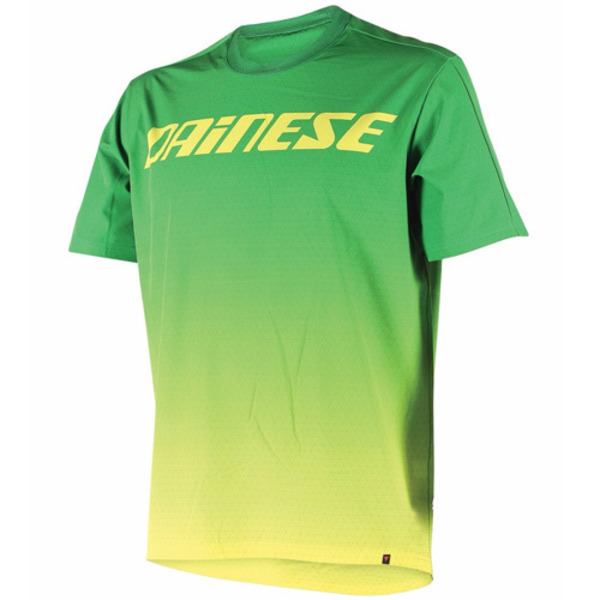 반팔상의 DRIFTEC TEE GREEN/YELLOW